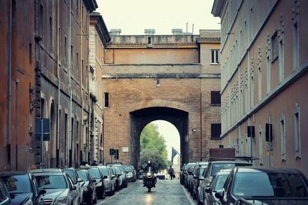 Street view in Vatican City Stock Photo