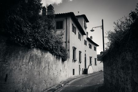 Street view in Florence, Italy Stock Photo