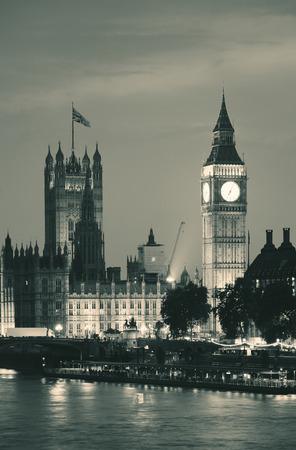 Casa del Parlamento en Westminster en Londres.
