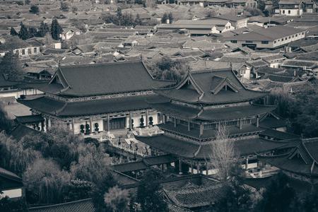 Lijiang mountain top view, Yunnan, China. Stok Fotoğraf - 116729866