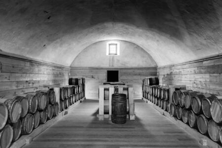 powder room: Powder room - Fort Niagara in Youngstown, New York