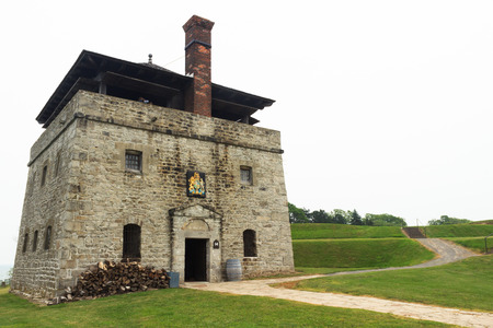 guard house: Guard House - Fort Niagara, Youngstown, New York Editorial