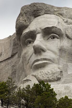 abraham lincoln: Mount Rushmore - Abraham Lincoln