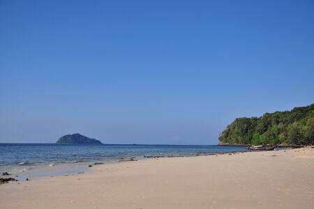 uninhabited: Beautiful uninhabited island at Satun.