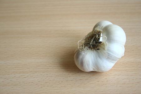 garlic closeup photo Stock Photo