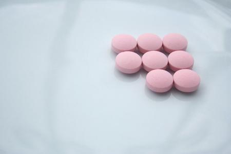 pills closeup photo