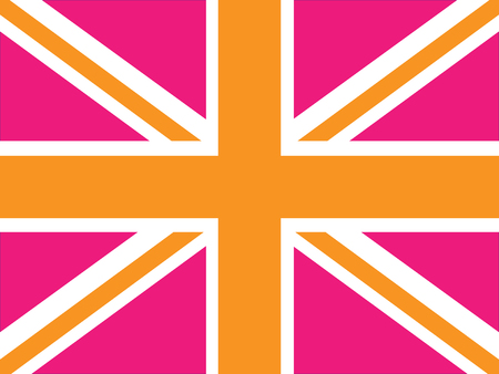 Vector image of a Union Jack - can be changed to any size or color