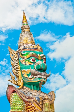 Statue giant big in thailand photo