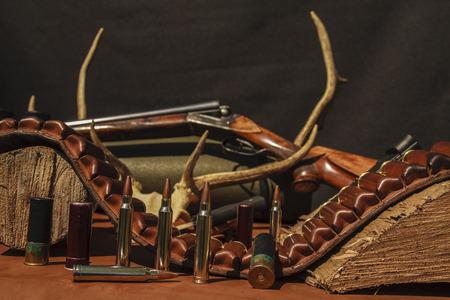 Eguipment hunting Reklamní fotografie