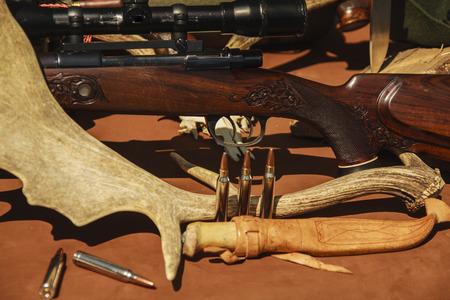 hunting equipment Reklamní fotografie