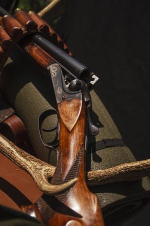 Hunting gun Reklamní fotografie