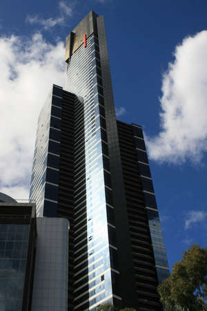 towering: Tall building towering above all else