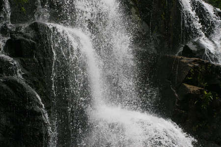 exultation: A split second in time of a waterfalls life