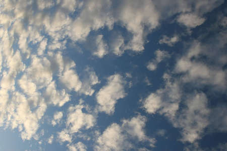 exultation: Blue sky and Dusty white Clouds in Auckland