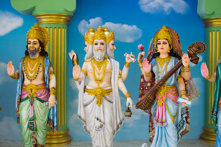 Gods of Hinduism, worshiped by the Indians and people around the world.