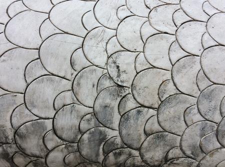 White cement wall Write a circle