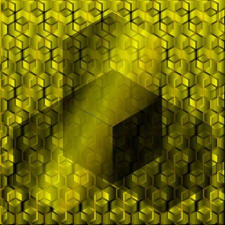 yellow black: vectores de fondo hexagonal negro amarillo Foto de archivo