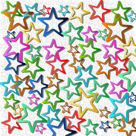 vectors  star abstract background 向量圖像
