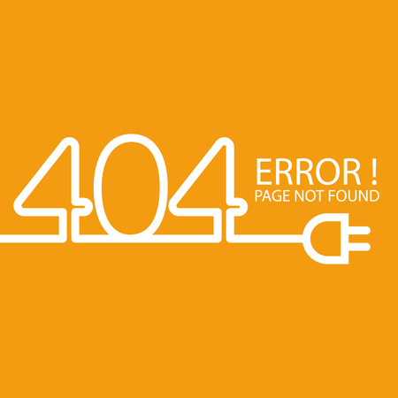 Abstract background 404 connection error
