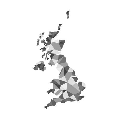 humanism: United Kingdom Vector Map