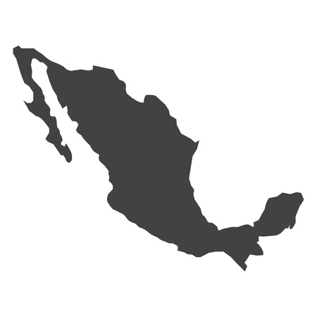 map mexico: vector map Mexico Illustration