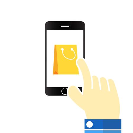 mobile marketing: Vector illustration Mobile marketing icons
