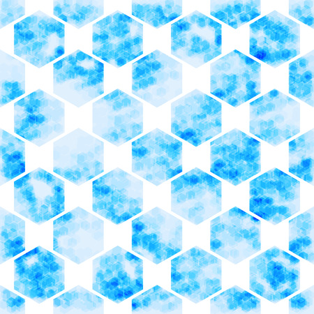 telecoms: vector background geometric Hexagon abstract technology  illustration