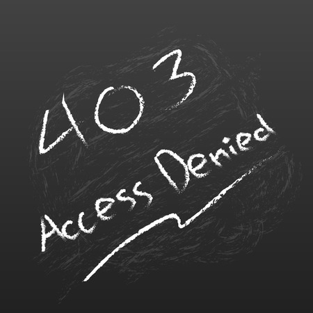 access denied: Abstract background 403 connection error Access Denied Illustration