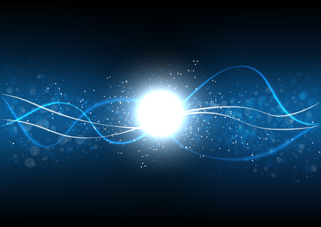 Fondo abstracto polígono tecnología de datos comunicación diseño vectorial ilustración
