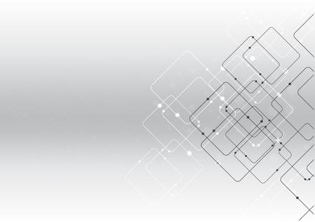 vector de fondo abstracto tecnología ilustración comunicación datos