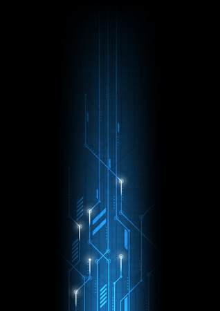 vector abstract background technology electronic illustration communication data
