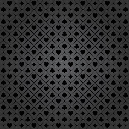 Black poker background with dots pattern. 일러스트