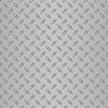 ironworks: Realistic corrugated steel seamless pattern. Steel background.