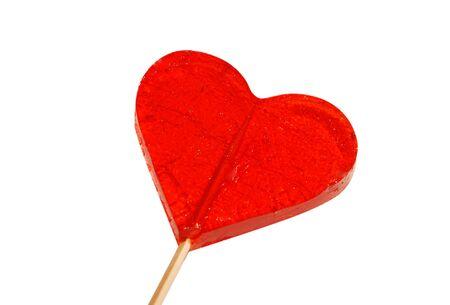 Heart Shaped Candy Stock Photo