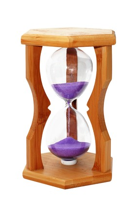 hour glass isolated  Stock Photo