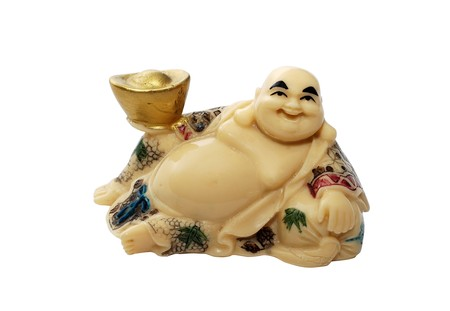 contentment: Hotei - God of Contentment & Happiness