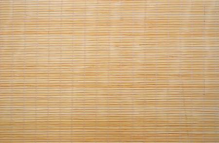 Bamboo stick sushi pad texture Stock Photo