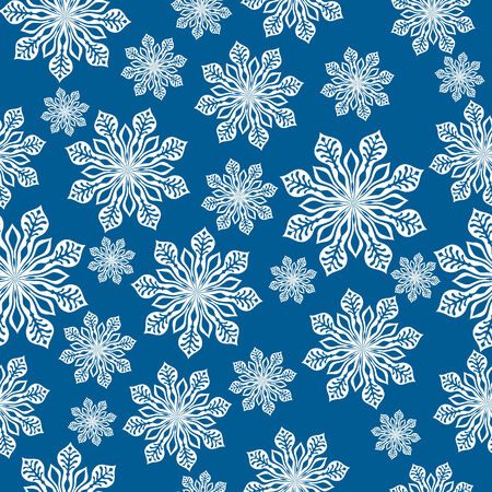 Winter background. Vector Illustration with lot of snowflake.