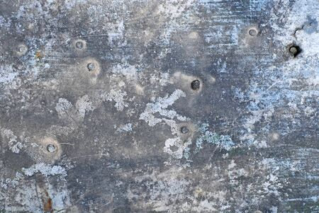 Aluminum plate texture with cracks