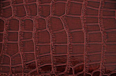 Imitation of crocodile leather texture photo