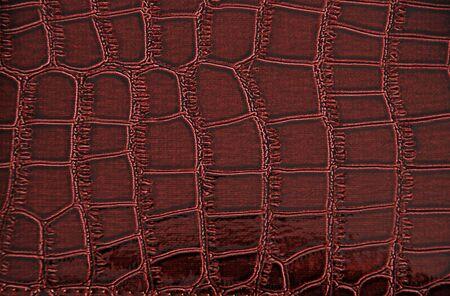 Imitation of crocodile leather texture