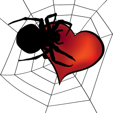 gluttonous: Spider and Heart