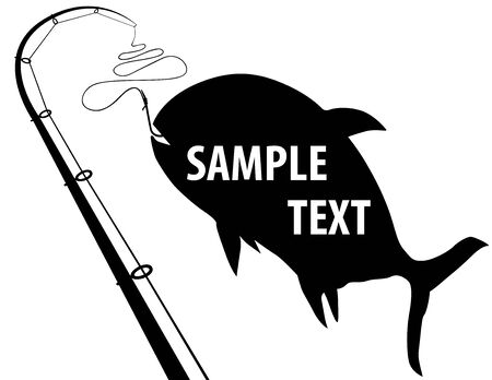 Fishing. Useful vector illustration.