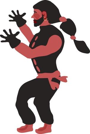 gypsy: gypsy dancer Illustration
