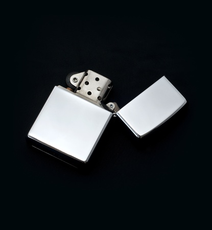 gas lighter: Silver Lighter