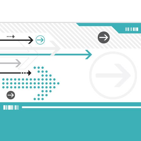 現代の矢印の背景 写真素材 - 22812576
