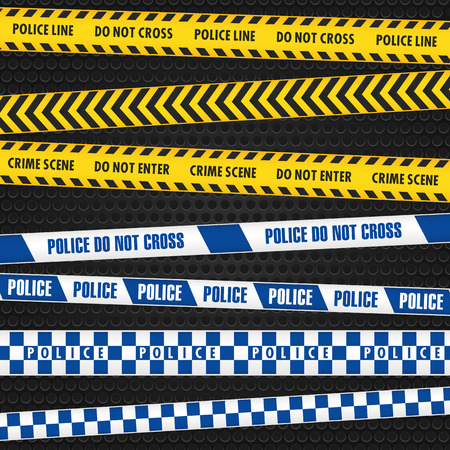 police tape: Police Warning Tapes