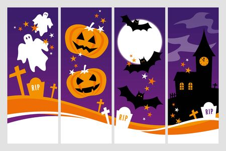 churchyard: Halloween Banners