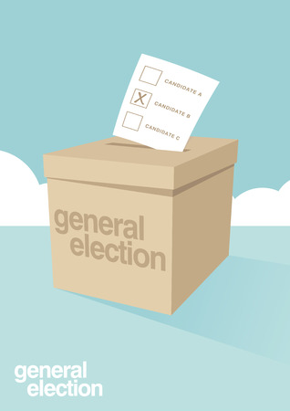 ballot box: Ballot Box for an election