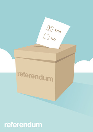 referendum: Ballot Box for a Referendum